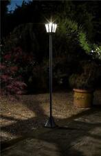 Large Victorian Outdoor Lighting Garden Path Post Light Super Bright 1.8m Solar