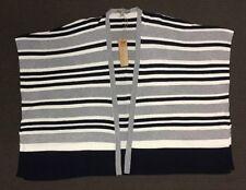 Rivers Stripe Knit Sleeveless Cardigan - Size Medium - New With Tags