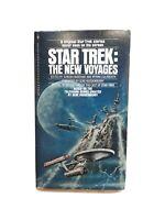 Star Trek the New Voyages Paperback novel scifi vintage 1970