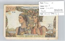 BILLET FRANCE - 5 000 FRANCS   5.4.1951 *