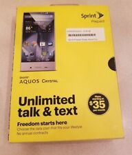 Sharp Aquos Crystal 306SH - 8GB - Black (Sprint) Smartphone