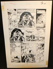 Legends of the Dark Knight #20 p.11 - LA - Batman and Alfred by Trevor Von Eeden Comic Art
