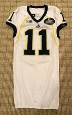 Courtney Avery Michigan Wolverines Legends Adidas Game Worn Used Issued Jersey