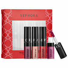 Sephora Mini Cream Lip Stain Set 4 X 0.04ox/1.3ml New In Box