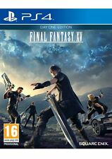 Final Fantasy XV Day One Edition with BONUS DLC PS4 Brand NEW/SEALED Aus Sel A+