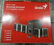 Genius SW-5.1 1505 Booming Surround Speaker System (120V-US)