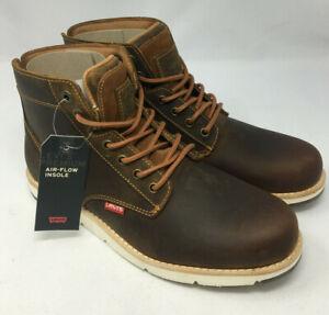 Levi's Jax Plus Men's Lace-up Boots Size UK 7.5 - BNIB (AH125F)