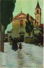 Metlicovitz - Uscita dalla Chiesa - M004