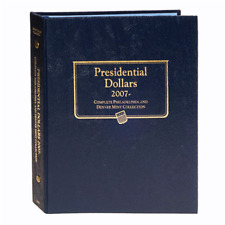 """WHITMAN CLASSIC"" 2227 PRESIDENTIAL DOLLARS 2007- ALBUM P&D W/ FREE SHIPPING!!!"