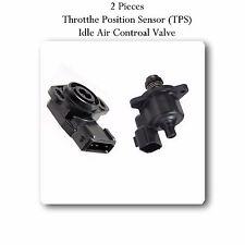 Throttle Positon Sensor & Idle Air Control Valve Fits: Chrysler Dodge Mitsubishi