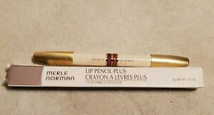Merle Norman Lip Pencil Plus Crayon Gold Amber .15oz / 4g Full Size Double Sided