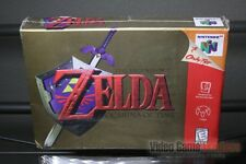 Legend of Zelda: Ocarina of Time (Nintendo 64, N64 1998) H-SEAM SEALED! - RARE!