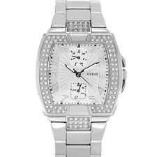 New Authentic  GUESS Women Silvertone Bracelet Watch U12556L1 new with tag