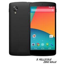 5 Pellicola OPACA per LG Nexus 5 Protezione Pellicole MATT Schermo SALVA