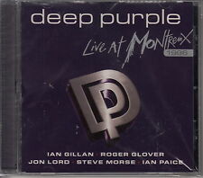 Deep Purple/Live at Montreux 1996-Best Of-Hits (NUOVO! saldati ORIGINALE)