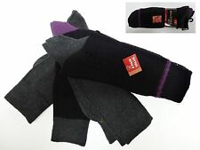 GOLDTOE GOLD TOE Mens 2950S CASUAL Black Marl Reinforced Toe socks 4 Pack NEW