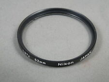 Nikon Filter L37c (UV) 52mm, sehr guter Zustd, Glas TOP