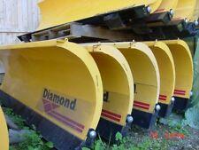 NEW 6, 6.5' Diamond skid steer loader blade snow plow trip edge snowplow Bobcat