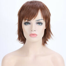 Short Anime Cosplay Wigs Real Natural Ghost Costume Wig Fancy Halloween Dress