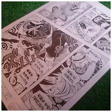 Official One Piece Manuscript Replica 2015 Trafalgar Law -Radio Knife- Manga