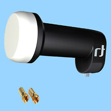 Inverto Black Ultra Single LNB High Gain SAT 72dB Reinforcement HD 4K Digital