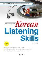 Korean Listening Skills Practical Tasks for Intermediate Learners w/CD Hangul