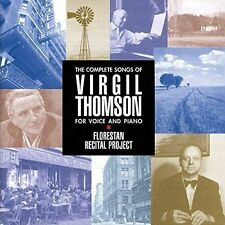 THE COMPLETE SONGS OF VIRGIL THOMSON FOR VOICE AND PIANO NEW CD
