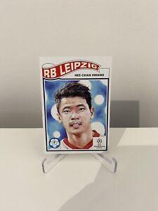 TOPPS LIVING SET UEFA CHAMPIONS LEAGUE HEE-CHAN HWANG NO-230 RB LEIPZIG
