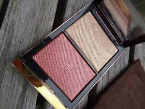 NEW LE TOM FORD Skin Illuminating Powder Blush & Highlighting Duo - Incandescent