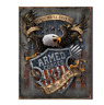 Armed Forces 1775 Novelty Metal  Vintage SIGN 12 x 16 Active Duty Veteran