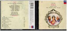 CD - 1931 - PUCCINI TOSCA OPERA GALA FRENI ,PAVAROTTI ,MILNES, RESCIGNO