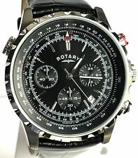 ROTARY GENTS CHRONOGRAPH DATE WATCH