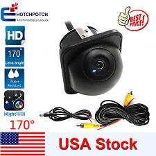 170º HD Wide Angle Car Dual-LED Rear View Reverse Backup Camera Kit Night Vision