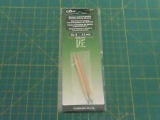 Clover Bamboo Interchangeable Circular Knitting Needles - No. 9 - 5.5 mm - 3639