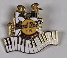 Hard Rock Cafe New York Clasp Pin Keyboard Piano Drums Saxophone Band Instrument