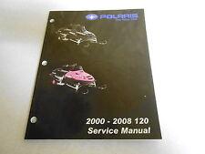 2000-2008 GENUINE POLARIS 120 SNOWMOBILE SERVICE MANUAL 9921077