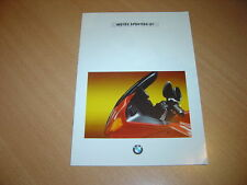 CATALOGUE BMW motos sportivo GT de 1994