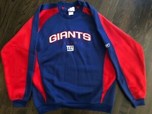 NEW without tags NEW YORK GIANTS official Reebok sweatshirt Men's size Medium