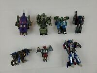 Transformers The Last Knight Lot of 7 Voyager Class / Leader Class Incomplete