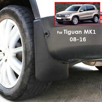 Molded Mud Flaps Fit For 07-15 Volkswagen VW Tiguan 5N Splash Guards Mudflaps