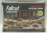Fallout Wasteland Warfare MUH051730 Wasteland Vermin (Creatures) Radroaches Rats