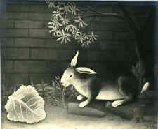 Man Ray, Lapin,vers 1930,tirage original