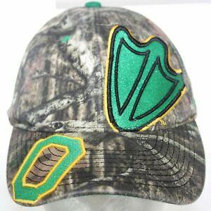 Oregon Ducks O & Duck Foot Logo Camo Zephyr Z Hat Strapback Cap Green & Yellow