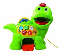 Vtech Baby Feed Me Green Dino Interactive Toy Christmas Gift for Toddler
