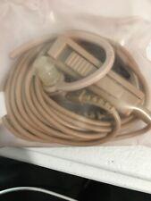 Motorola HMN9754D Beige Surveillance Kit Mic With Hook Style Earpiece