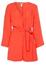 Make Way Flynn Playsuit Orange Ladies UK Size 10 box55 24 D