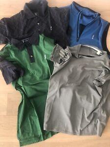 Adidas Golf 1x Weste, 2x Polo, 1 Shirt Männer Gr M