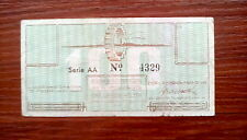 More details for special offer 100 cent  ss westerbork concentration camp currency bill note