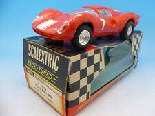 Scalextric C16 Ferrari P4 no7 boxed