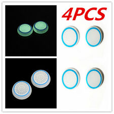 4XBlue Luminous Glow in the Dark Joystick Thumbstick Caps Cover PS4 PS3 XBOX ONE